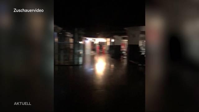 Stromausfall: Shoppi Tivoli steht im Dunkeln