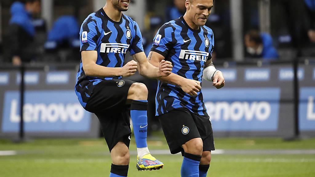 Inter nimmt die nächste Hürde auf dem Weg zum ersten Meistertitel seit elf Jahren