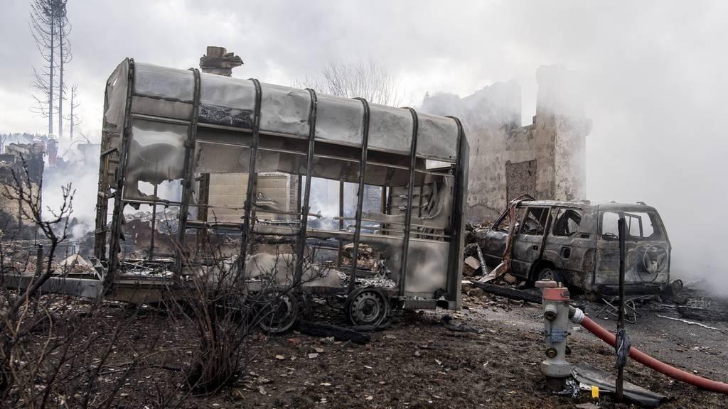 Bauma ZH startet nach Brand Spendeaktion