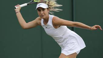 Belinda Bencic verpasste ihren dritten Einzug in die Achtelfinals von Wimbledon nach 2015 und 2018