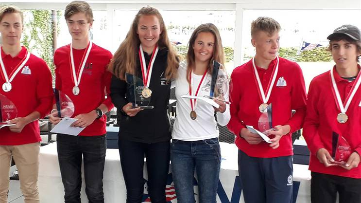 Natascha und Samira Rast werden Schweizer Meister