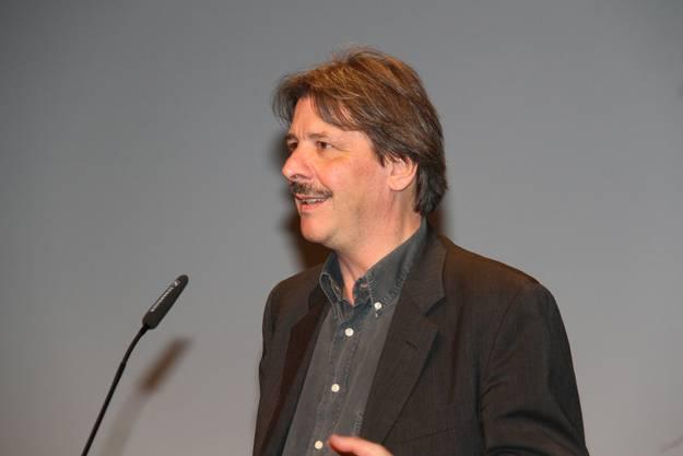 Ständerat Paul Rechsteiner windet der AHV ein Kränzchen