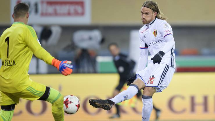 Torschütze zum 3:0 gegen Lausanne: Michael Lang.
