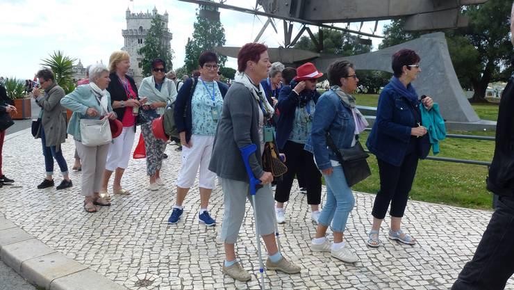 Vereinsmitglieder anlässlich der Stadtführung