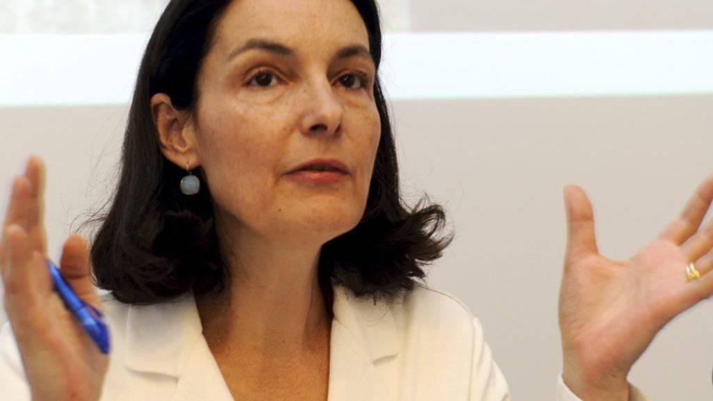 Die ehemalige Tessiner Nationalrätin und Regierungsrätin Laura Sadis wäre bereit für den Sprung in den Bundesrat. (Archivbild)