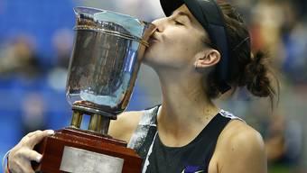 Belinda Bencic will nach dem Titel in Moskau auch an den WTA Finals in Shenzhen angreifen