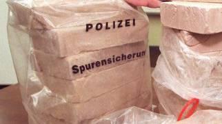 Beschlagnahmtes Heroin (Symbol)