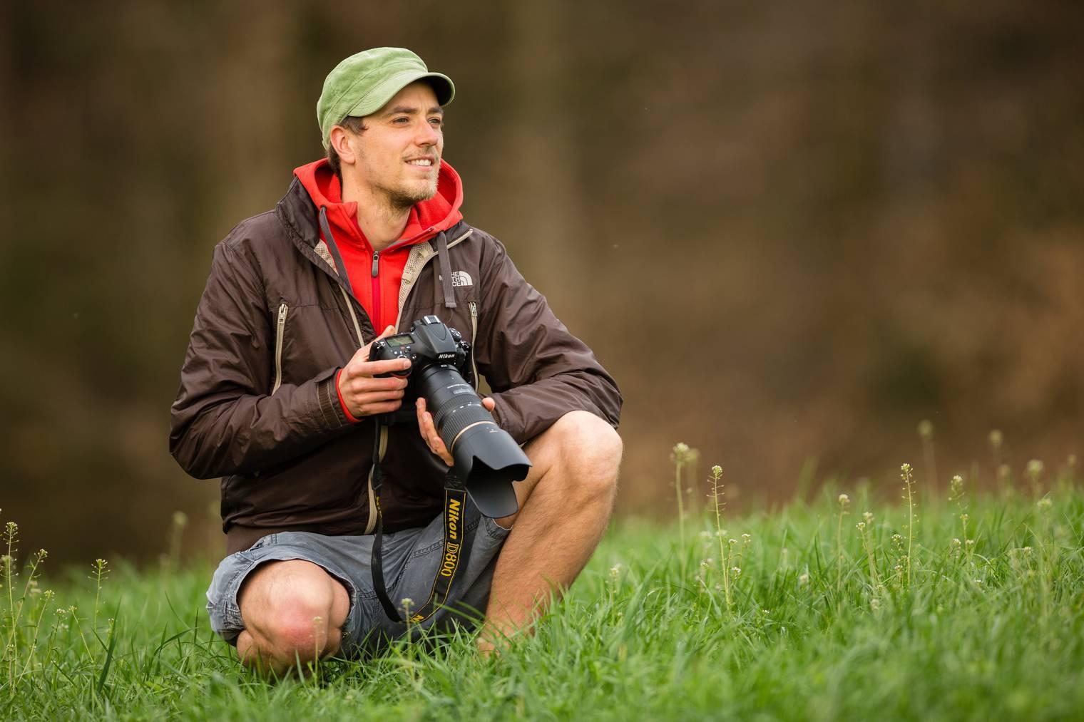 Tobias Ryser ist als Fotograf oft in der Natur unterwegs. (Bild: zVg)