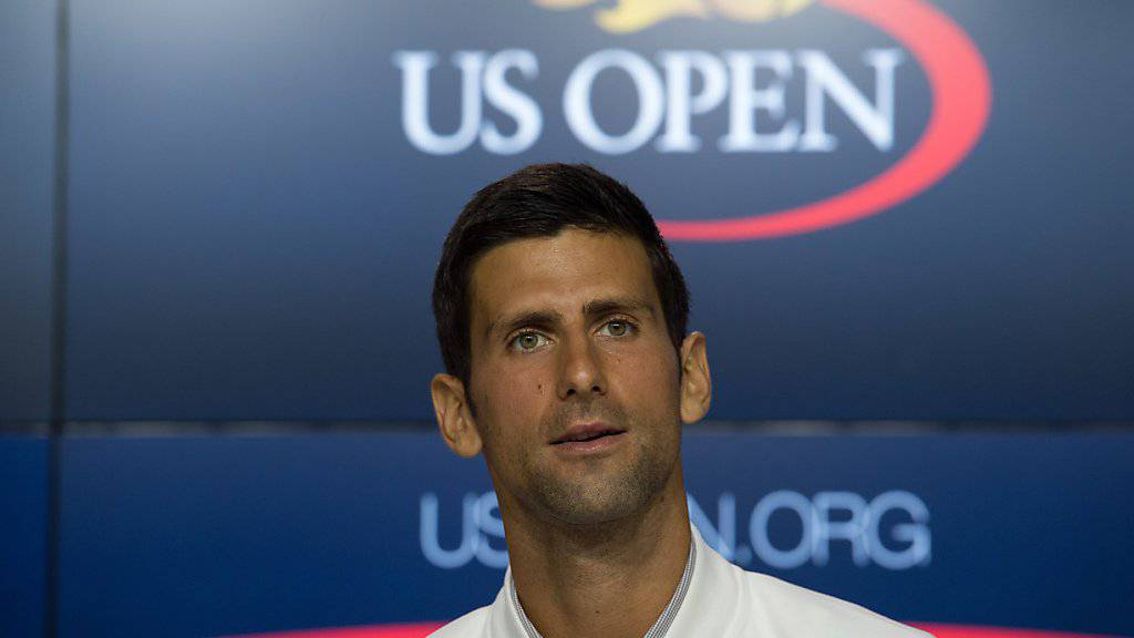 Titelverteidiger am US Open: Novak Djokovic