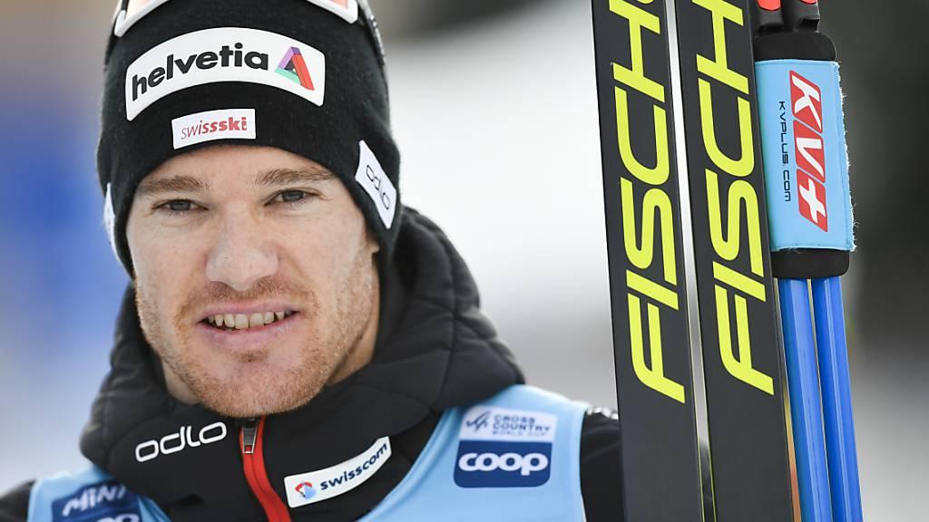 Dario Cologna neu Gesamt-Sechster der Tour de Ski