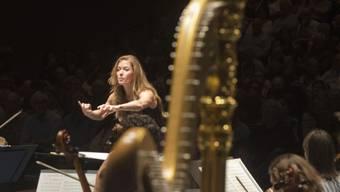 Die kanadische Sängerin und Dirigentin Barbara Hannigan war an der Eröffnung des Lucerne Festival für einmal als Rednerin engagiert. Dabei forderte sie ein offeneres Ohr für die zeitgenössische Musik. (Archivbild)