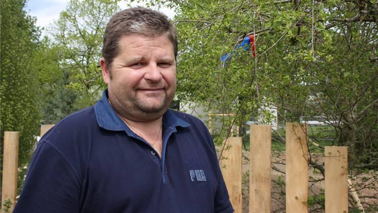 André Fellmann ist Geschäftsführer der Graf Gartenbau AG.