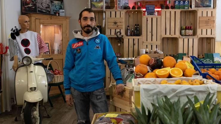 Sergio Salvati bringt mit seinem Laden ein Stück echtes Italien nach Balsthal.