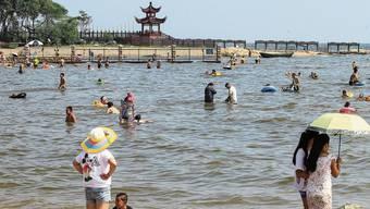 Der Strand von Beidaihe zieht im Sommer viele chinesische Touristen an – und Parteikader.