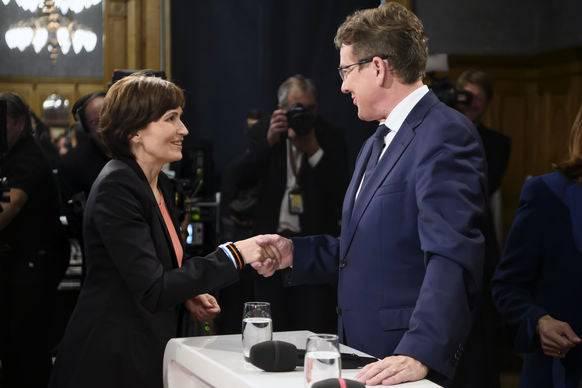 Sogar SVP-Rösti nimmt am Klimagipfel teil.