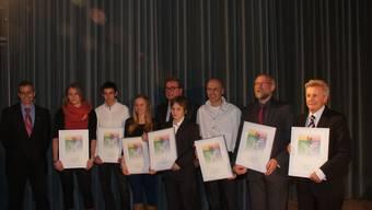 Die Preisträger des Baselbieter Sportpreises
