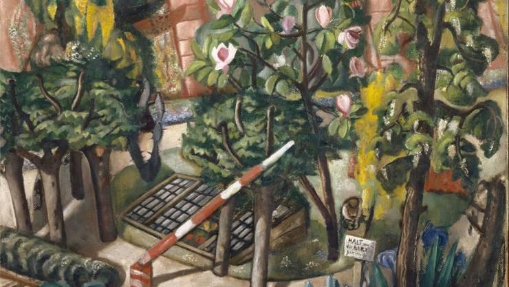 Max Beckmann: Das Nizza in Frankfurt am Main (1921), Öl auf Leinwand,1939 mit einem Sonderkredit der Basler Regierung erworben.