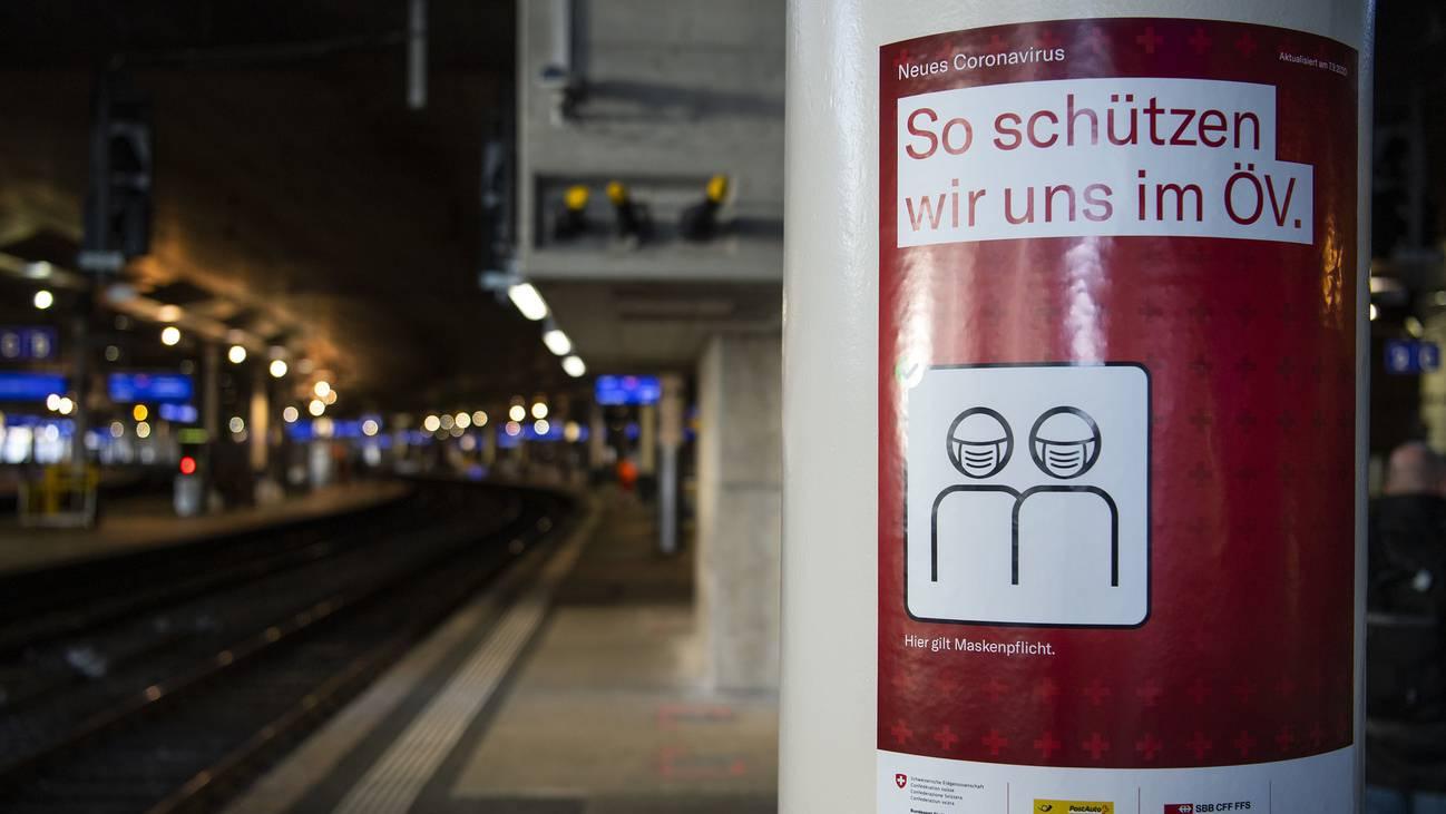430456333_highres Maskenpflicht Bahnhof SBB