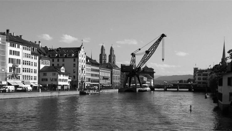 Umstritttenes Kunstprojekt - Im Jahr 2014 soll am Limmatquai ein Hafenkran stehen