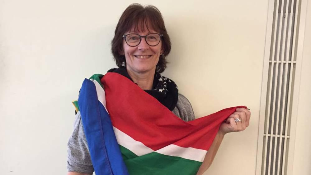 Usula Betz aus Döttingen 36 Grad Südafrika