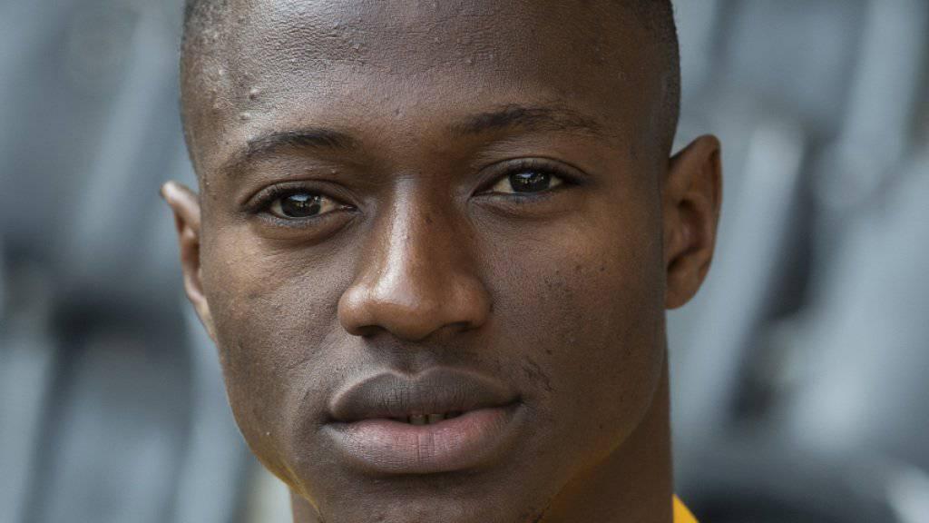Mohamed Ali Camara zog sich im Training einen Schienbeinbruch zu