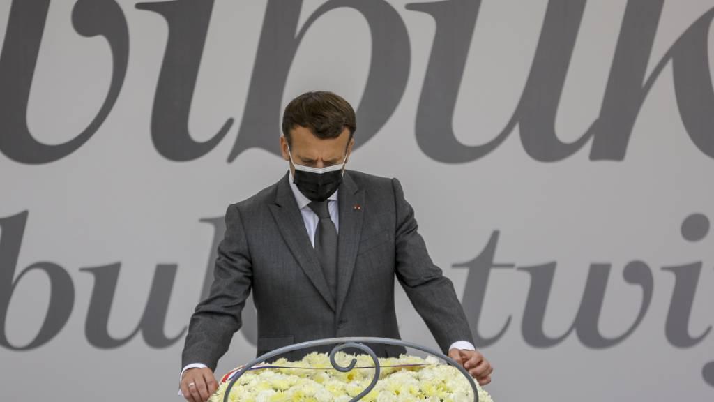 Frankreich erkennt Verantwortung bei Ruandas Völkermord an
