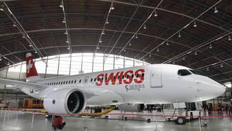 Die C-Series heisst jetzt Airbus A220. (Quelle: Keystone)