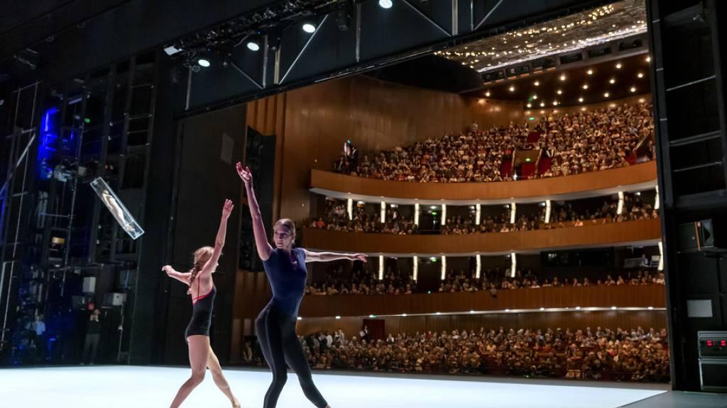 Feuerlöschanlage von Genfer Oper löscht ohne Brand