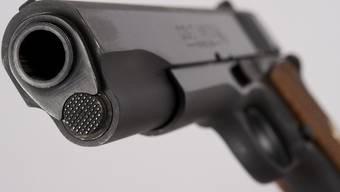 Eine Pistole (Symbolbild)