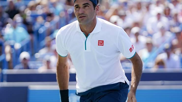 Trotz seiner schnellsten Niederlage seit 2003 nahm Roger Federer das frühe Ausscheiden in Cincinnati relativ gelassen