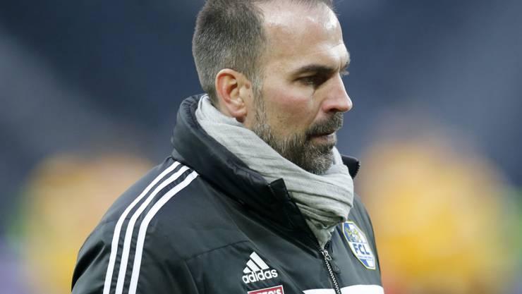 Trainer Markus Babbel wartet mit dem FC Luzern in der Rückrunde noch immer auf den ersten Punktgewinn