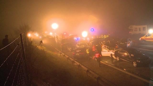 Gefahr: Spontane lokale Nebelbank