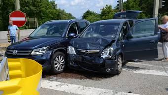 Verkehrsunfall in Muttenz