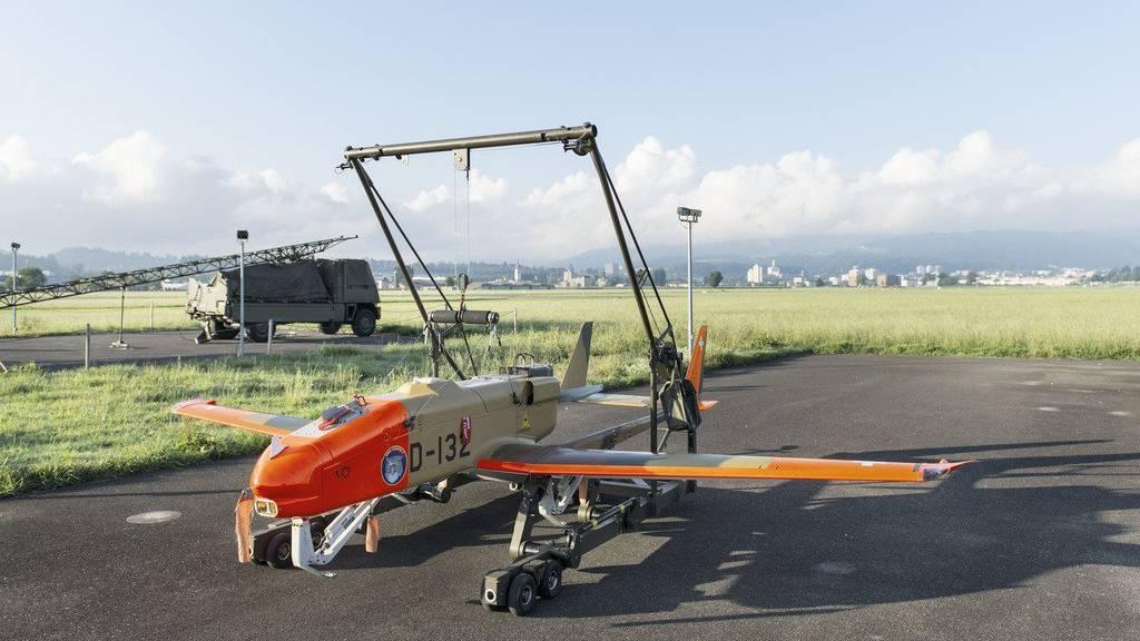 Eine solche Drohne weckte die St.Gallerinnen und St.Galler. (KEYSTONE/Christian Beutler)