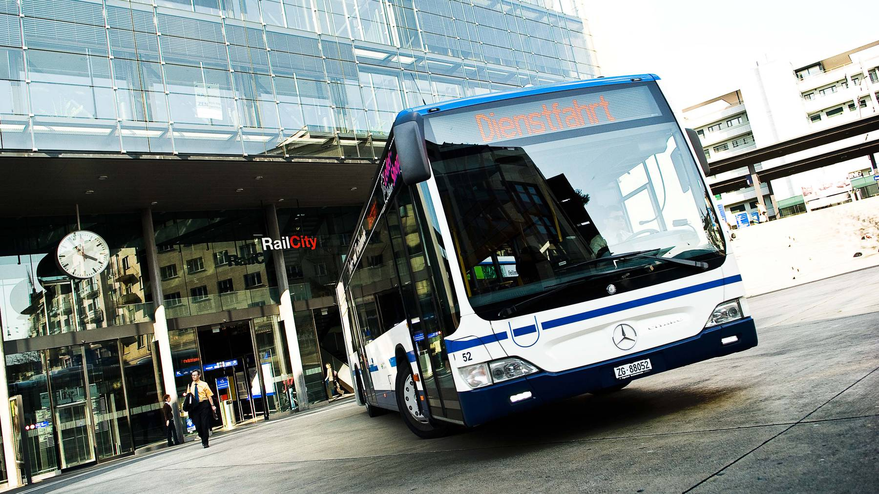 Bus der Zugerland Verkehrsbetriebe