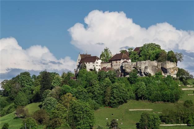 Das Schloss Lenzburg in Bildern