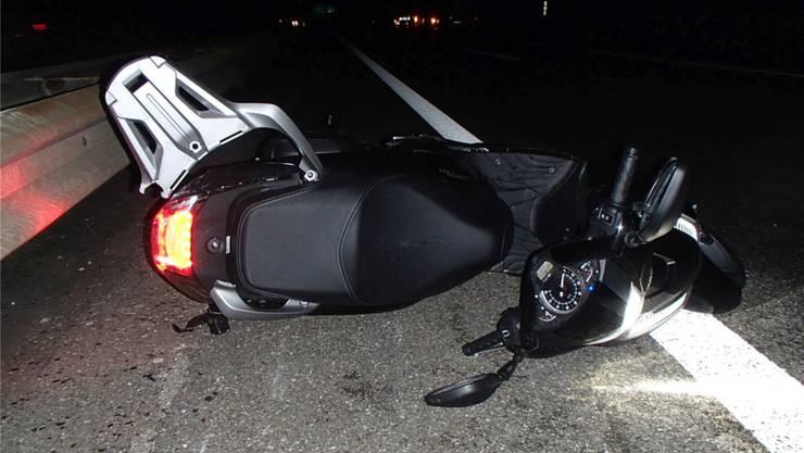 Der Unfall ereignete sich nach der Autobahnausfahrt Rheinfelden Ost. Archiv