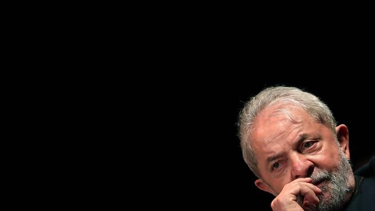 Gefängnis statt Wahlkampf: Brasiliens Ex-Präsident Lula da Silva droht eine mehrjährige Haftstrafe. (Archiv)