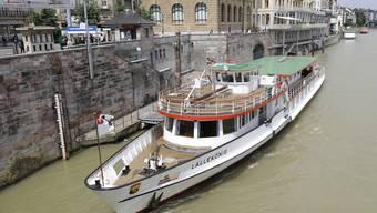 Die «MS Lällekeenig» wird mit der Inbetriebnahme des neuen Schiffes 2018 wahrscheinlich ausgemustert. (Archiv)