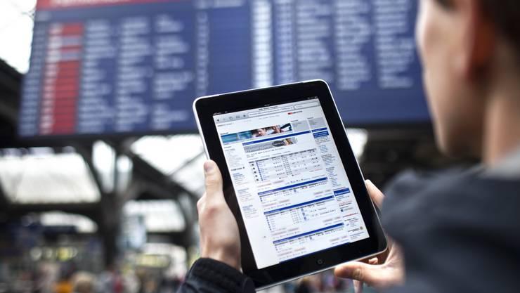 SBB stellt an verschiedenen Bahnhöfen in der Region Wifi zur Verfügung