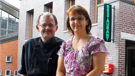 Werden verabschiedet: Wirtepaar Rolf und Marietta Meier.