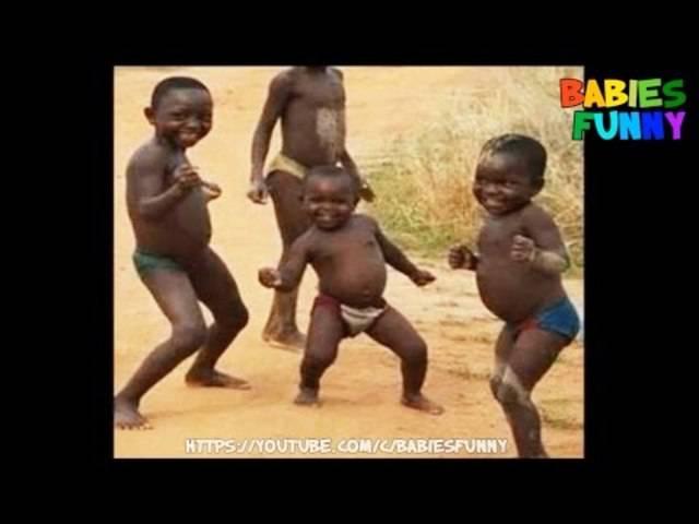 Afrikanische Kinder haben das Tanzen im Blut.