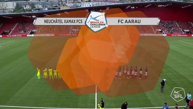 Xamax - FC Aarau, 1. Runde 21.07.17, Highlights ungeschnitten