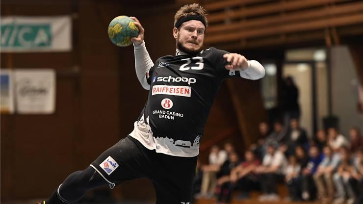 Spielmacher Philipp Seitle gehört zu den Leistungsträgern beim STV Baden. AWA