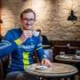 Mathias Lüscher, 38, dem sportlichen Inhaber von Velokurier Solothurn.