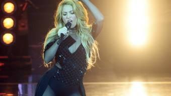 """Rund drei Jahre nach ihrem letzten Album veröffentlicht die kolumbianische Sängerin Shakira am Freitag """"El Dorado"""". (Archivbild)"""