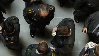 Im Führungsstab der Armee herrscht derzeit keine Kaffeekränzchen-Stimmung. (Archiv)