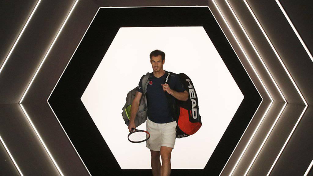 Im Rampenlicht: Andy Murray macht sich keine Illusionen in Sachen Doping