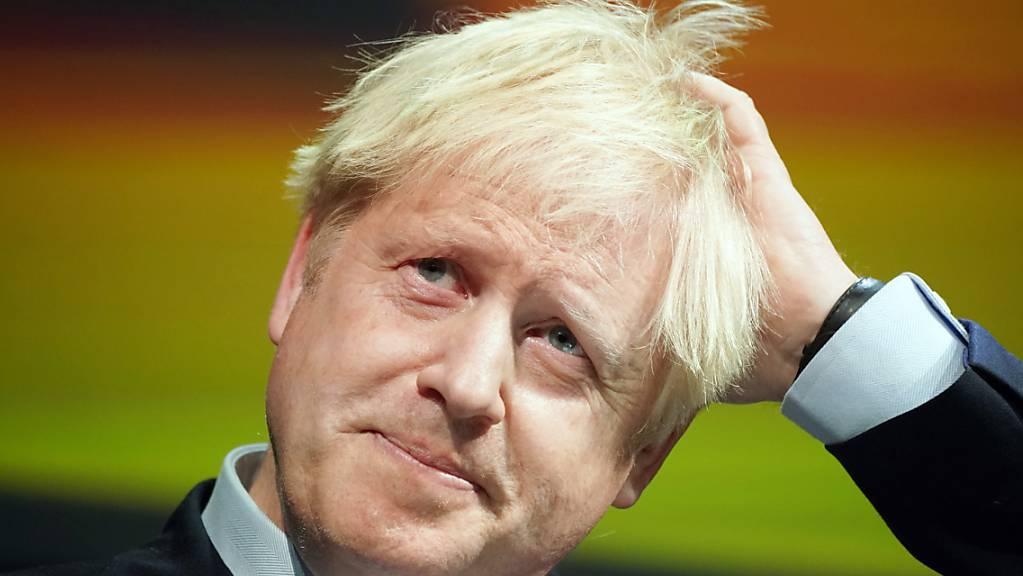 Der britische Premierminister Boris Johnson gab sich optimistisch kurz vor seinem Treffen mit EU-  Kommissionschef Jean-Claude Juncker in Luxemburg. (Archivbild)