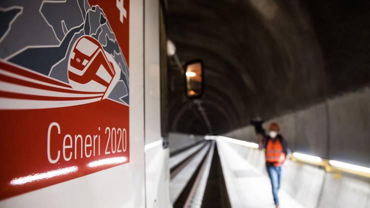 Die Petition wird zur Eröffnung des Ceneri-Tunnels eingereicht.